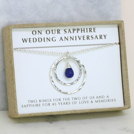 Wedding Anniversary Gifts For Her: 45th Anniversary Gift 45th Wedding Anniversary Gift
