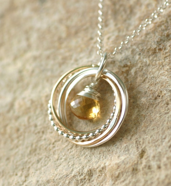 Mother Of The Bride Gift Necklace In Law