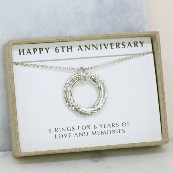 Sixth Wedding Anniversary Gifts: 6th Anniversary Gift Meaningful Gift For Wife 6 Year