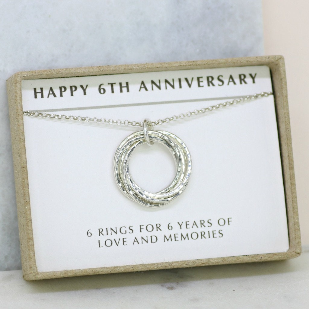 Wedding Anniversary Gifts For Wife: 6th Anniversary Gift Meaningful Gift For Wife 6 Year