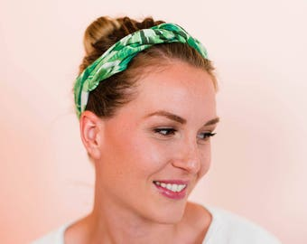 Palm Tree Wire Headband by Byrd