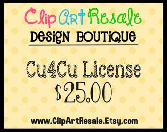 Cu4Cu License  - One time fee!  BONUS 5.00 worth of FREE clip art!