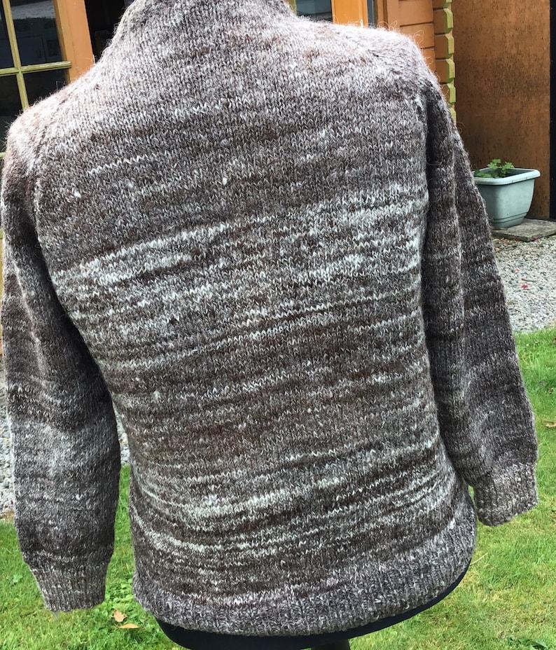 Handspun Jacob wool jacket