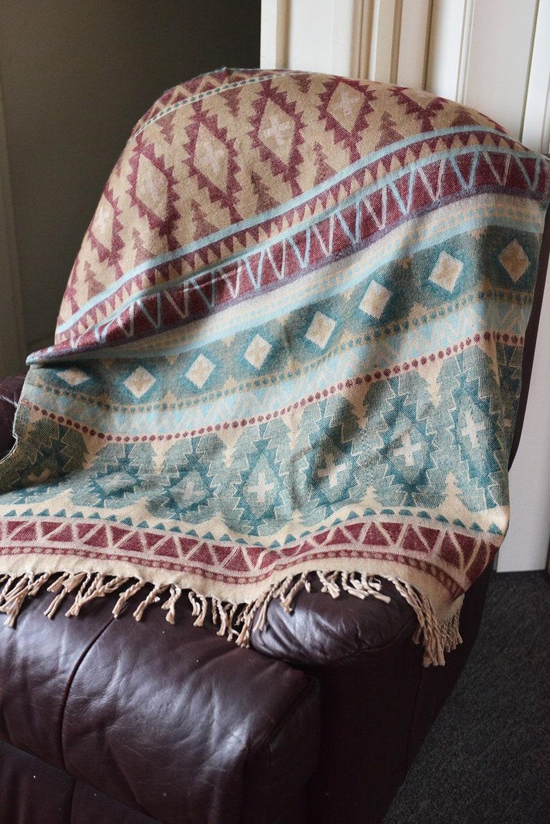 Yak Wool Blanket Handmade Shawl Finest Softest Body Blanket image 0
