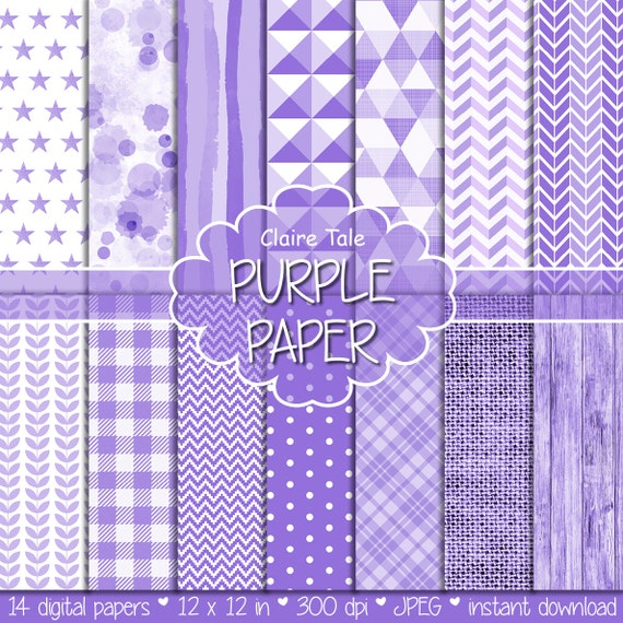 Purple digital paper, Purple scrapbooking paper, Purple background, Light purple pattern, Purple invitation printable paper, Purple wood
