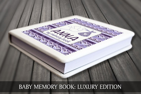 Personalised baby book, Modern baby book, First year baby book, Keepsake baby journal, Baby book, Personalised baby journal,Baby keepsake