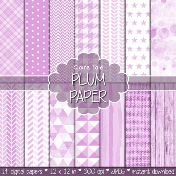 Light plum digital paper, Light plum digital pattern, Light plum background, Plum printable party invitation paper, Light plum scarpbooking