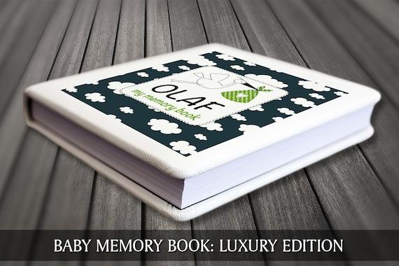 First year baby book, Keepsake baby journal, Modern baby book, Personalised baby book, Personalised baby journal, Baby book,  Baby keepsake