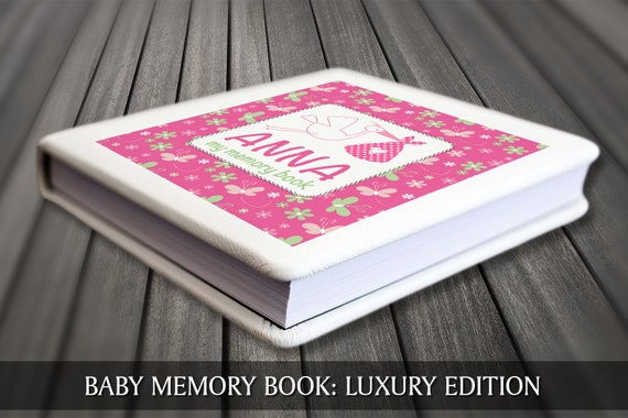 Modern baby book, First year baby book, Keepsake baby journal, Baby book, Personalised baby journal, Personalised baby book, Baby keepsake