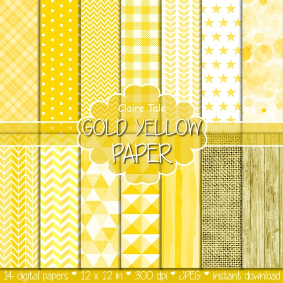 Yellow digital patterns, Yellow digital paper, Yellow paper, Yellow printable paper, Yellow backgrounds, Yellow textures, Yellow backdrop
