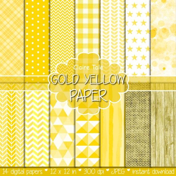Yellow digital patterns, Yellow digital paper, Yellow paper, Yellow printable paper, Yellow backgrounds, Yellow textures, Yellow backdrop