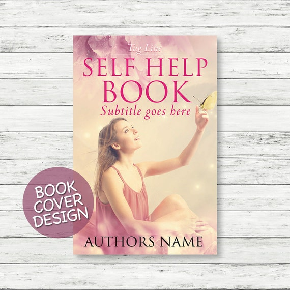 Book cover design / ebook cover / kindle cover / cover design ready for print / self help book cover + matching back cover + spine design