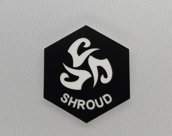 Shroud Token(s) -   Plastic   Laser Engraved   Magic the Gathering (MtG)