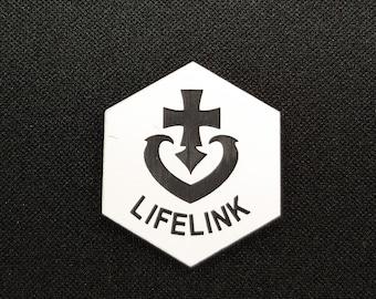 Lifelink (v2) Token(s) -   Plastic   Laser Engraved   Magic the Gathering (MtG)
