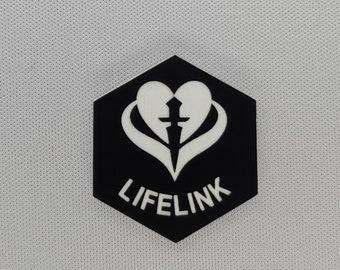 Lifelink (v3) Token(s) -   Plastic   Laser Engraved   Magic the Gathering (MtG)
