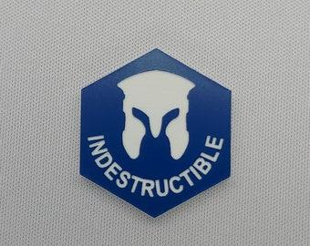 Indestructible (v3) Token(s) -   Plastic   Laser Engraved   Magic the Gathering (MtG)