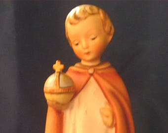 "M. I HUMMEL 7.5"" Tall ""The HOLY CHILD"" Porcelain Figurine 1960 West Germany #70 TMK3  Book Value = 188 Reduced by 70%"