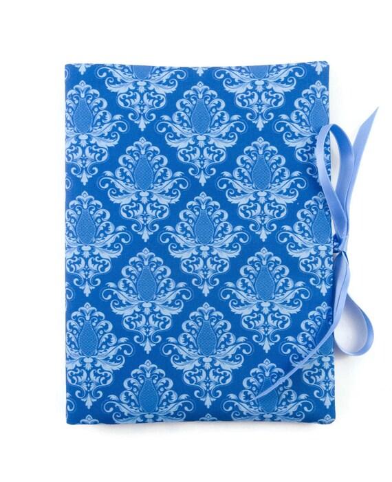 bettina bruder® Stammbuch DIN A5 Anker blau-weiß Sammelmappe