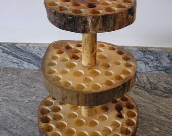 rustic essential oil holder