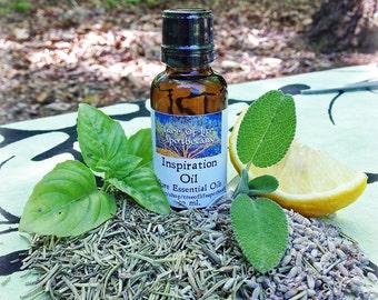 Inspiration Aromatherapy & Massage Oil, 30 ml. (1 oz.)