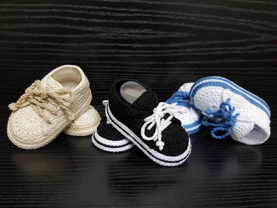Häkeln Baby Turnschuhe Häkeln Baby Schuhe Baby Turnschuhe Etsy