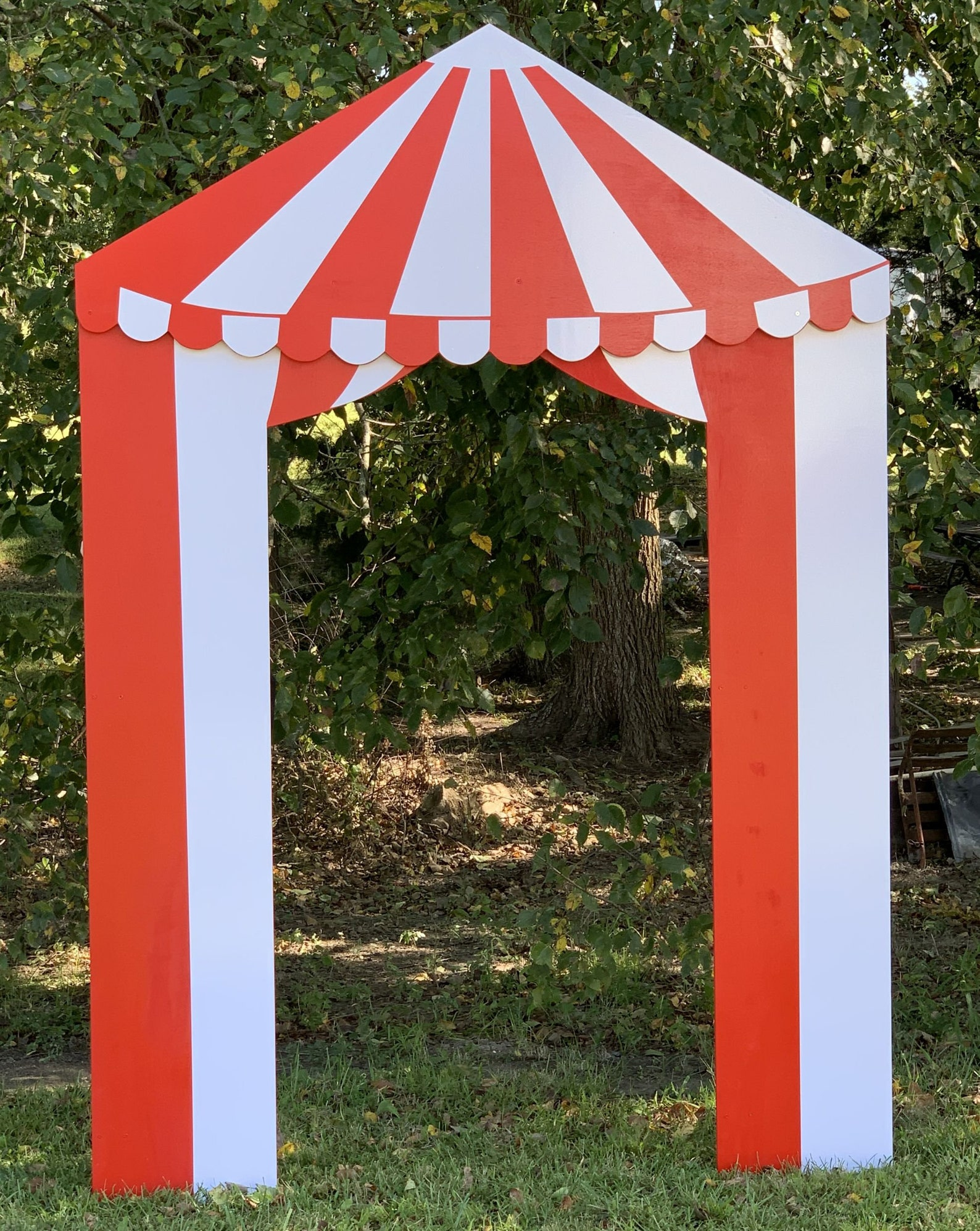 Wood Circus Carnival Booths