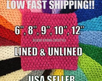 4c2cbd37878 FUCHSIA PINK Crochet Tutu Top 6 inch