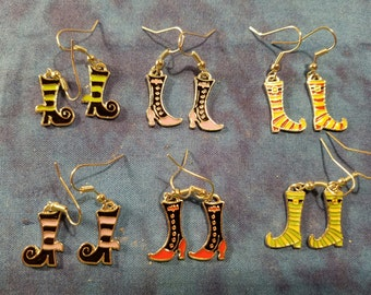 4beb26e01 Witch Feet Earrings - Choose Your Favorite