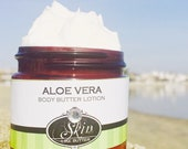 Body Butter Lotion ALOE VERA Thick like body butter Available in an 2 oz bottle or jar or 4 oz jar birthday gift