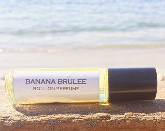 Perfume || BANANA BRULEE || Roll on Perfume || Long lasting perfume || vegan perfume