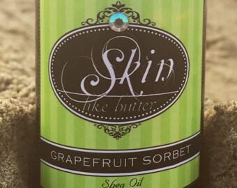 Body oil GRAPEFRUIT SORBET || 2 or 4 oz  || shea butter oil || shea oil  || moisturizing oil || after shower oil || body oil gift