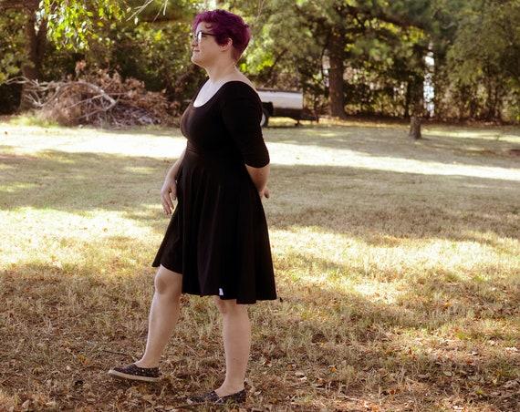 The Little Black women's twirl dress