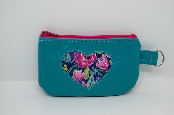 Floral Small Coin Pouch