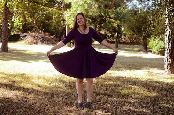 Plum pretty women's twirl dress