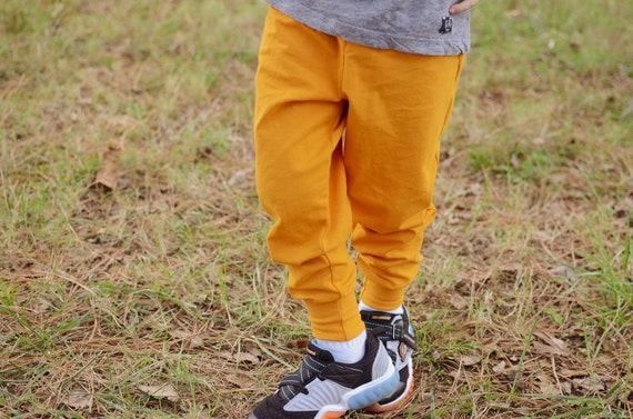 Unisex Mustard joggers