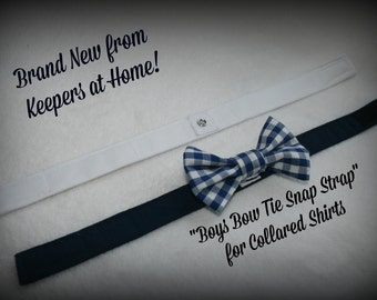 Bow Ties/ Baby Boys Bow Tie Snap Strap and Bow Tie-Brand New Item at Keepers at Home/ Baby Gift