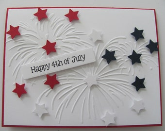 Party Invitation 4th of July Photo Card Patriotic Holiday Photo Card American Flag Card Custom Printable Happy Fourth of July Card