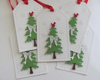 Christmas Tree Tags, Christmas Tags, Tree  Gift Tags, Christmas, Holiday Gift Tag, Tree Tags, Christmas Gift Tags, Handmade Christmas Tree