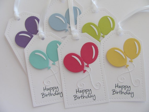 Happy Birthday Gift Tags Favor