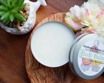 Body Balm, all natural skin moisturizer made with essential oils
