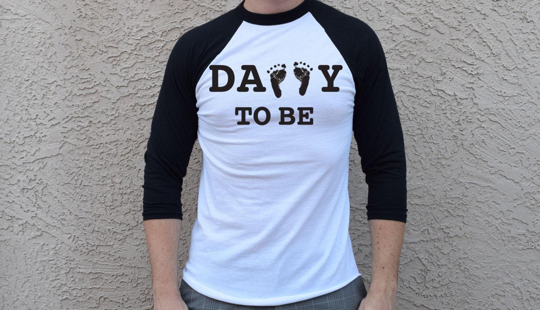 Papa à être chemise. Tshirt de papa papa de 3/4 de Baseball. Papa à être. Papa de Baseball Shirt futur papa chemise papa Est 2019 attend papa papa T-shirt Raglan 2bd4a5