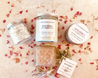 Deluxe Gift Sets For Women by Santa Barbara Aromatics |Personalized Gift for Women | Gift for Her | Gift for Mom | Bridesmaid Gift