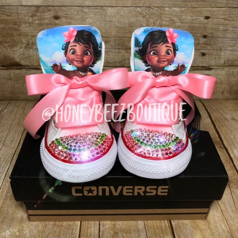 e783d5b45d07 Moana Bling Converse Baby Moana Moana Birthday