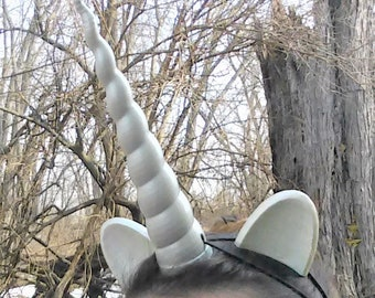 Unicorn Horn Headband And Ear Set Many Sizes Cosplay Costume