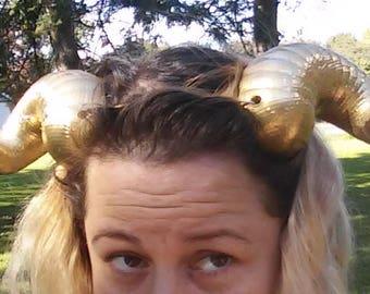 Ram Horn Headband Etsy