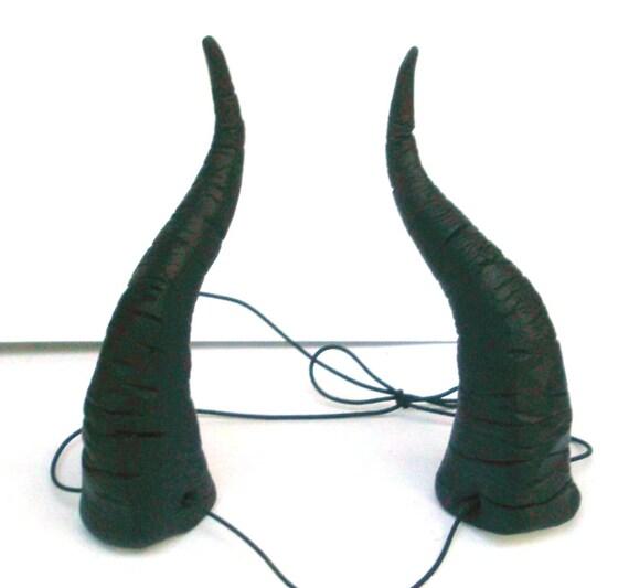 Maleficent Horns Dragon Maleficent Headpiece Bull Horns Big Headband Demon Horn Head Dresslightweight Costume Black Cosplay Costume