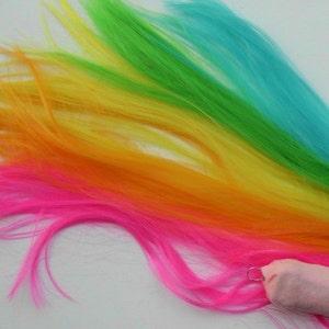 pink my little pony cosplay Pastel Rainbow tail Celestia Unicorn Pony Horse mlp Tail  Costume MLP mint light purple blue