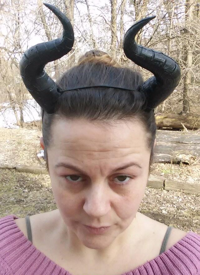 Große Hörner Drache Dämon Maleficent Teufel Satan viele   Etsy