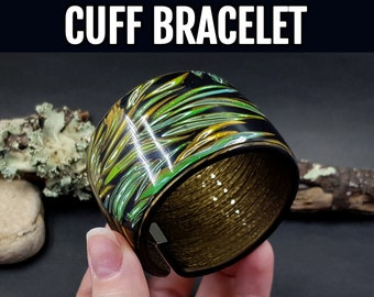 Polymer Clay Video Tutorial: How to make the Polymer clay Bracelet cuff in one baking!