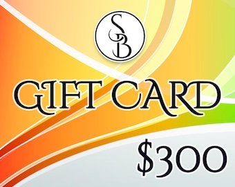 Gift Card 300.USD for SweetyBijou.com shop